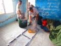 Olive-oil soap making
