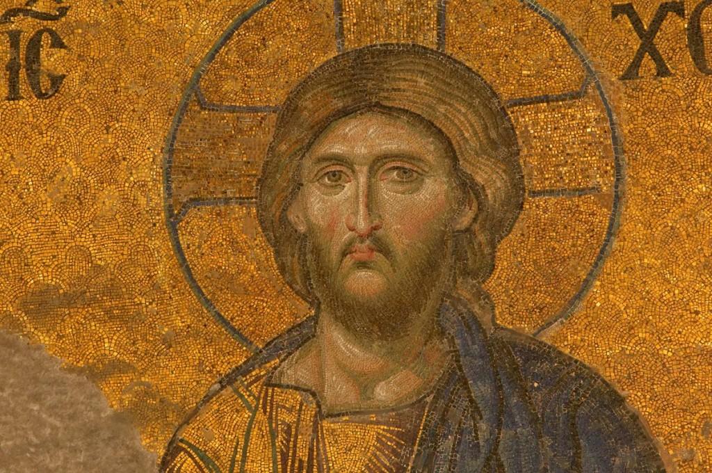 Jesus Christ Mosaic in the Hagia Sophia