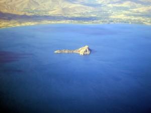 Akdamar Island in Lake Van