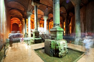 Basilica Cistern, Yerebatan