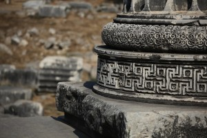 Detail from the Apollo Temple, Didyma