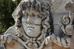 Medusa Relief at the Apollo Temple, Didyma